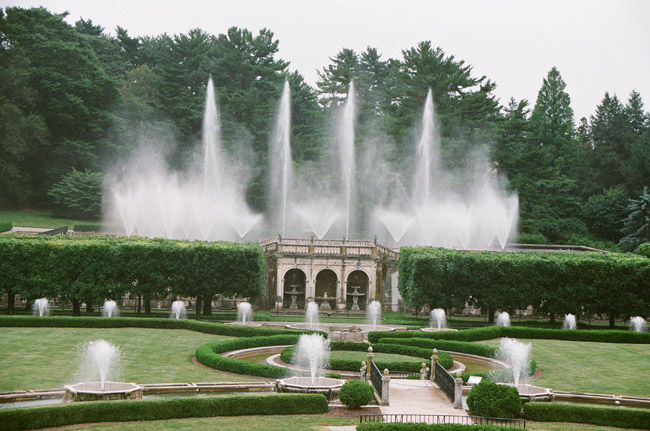 Famous Fountains At Longwood Garden