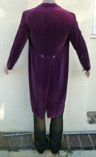 Bid to own the purple velvet tail-coat worn by Gary Brooker