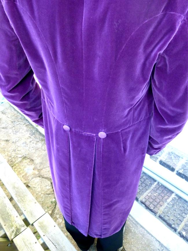 Purple Jacket Mens