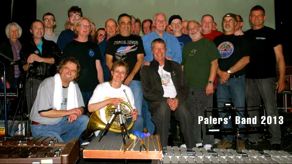 Dave with Gary Brooker and the Palers' Band in Wuppertal, 2013
