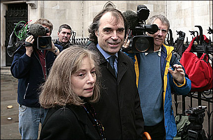 Matthew Fisher with his wife Carol