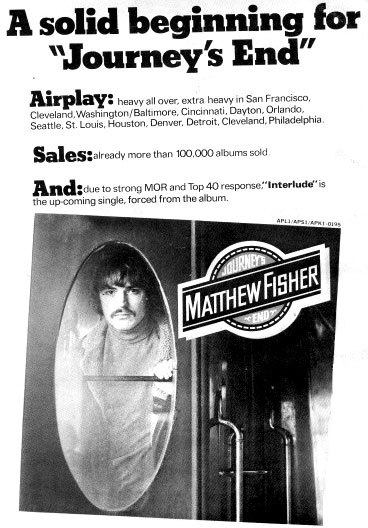 Promo ad. from 'Cashbox'
