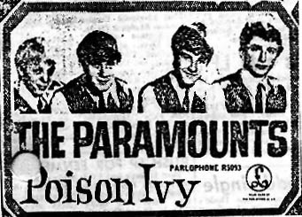 Pictorial 'Poison Ivy' advertisement